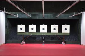 Zespół strzelnic dla Regionalnego Centrum Sportowego w Lubinie
